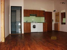 Pronájem bytu Praha 5 - Košíře, byt 1+kk, 25m2, nový, částečně zařízený