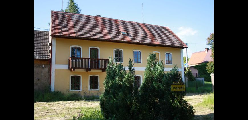 Prodej domu s pozemkem Kladno - Hořešovičky, OV