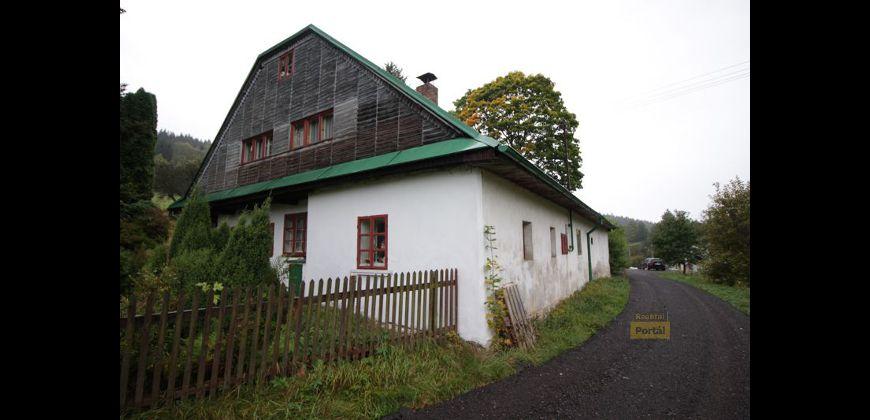Prodej chalupy 7+1, 200m2, pozemek 1005m2,  Lichkov okr. Ústí nad Orlicí, OV