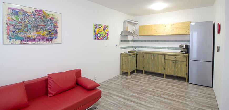 Prodej bytu PV, Klecany, 2+kk/B, 48,5m2 nový, OV