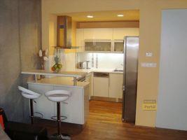 Pronájem bytu v Praze 9 - Vysočany, byt 2+kk, 60m2, nový, zařízený, garážové stání