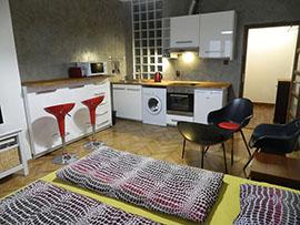 Pronájem bytu Karlín, byt 1+kk, Praha 8